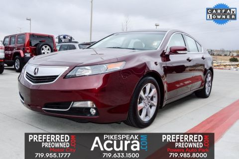 Pre-Owned 2013 Acura TL 3.5 FWD 4D Sedan